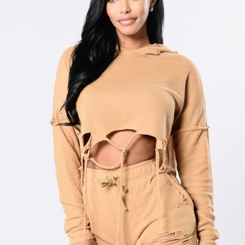 Calling All Ladies Top - Mustard