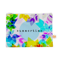 "Sreetama Ray ""Seasons Summer"" Rainbow Leaves Everything Bag"