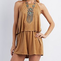 STRAPPY SWING ROMPER