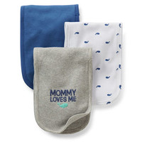 3-Pack Burp Cloths