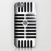Microphone iPhone & iPod Case by Nicklas Gustafsson