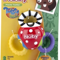 nuby twistaball rattle teether Case of 24