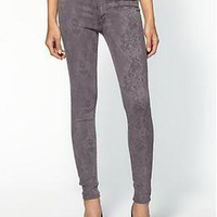 Hudson Jeans Nico Midrise Super Skinny Laser Lace Jeans   Piperlime