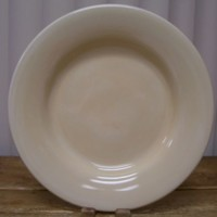 Tabletops Unlimited Espana Cream Colored 1 Large Dinner Plate