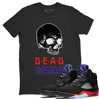 Skull Dead Inside T-Shirt - Air Jordan 5 Top 3