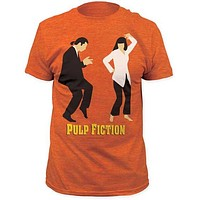 PULP FICTION DANCE CONTEST MENS FITTED JERSEY TEE
