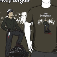 """""""Captain Dexter Morgan- Dexter Parody"""" T-Shirts & Hoodies by spacemonkeydr 