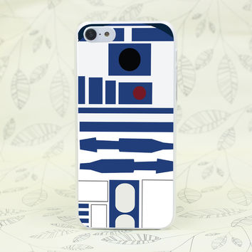 907F Star Wars R2D2 Protective Hard Transparent Case Cover for iPhone 7 7 Plus 4 4s 5 5s 5c SE 6 6s Plus