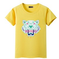 KENZO Fashion Casual Monogram print Short Sleeve Tee Top