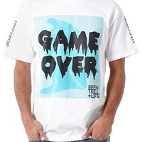 Been Trill Game Over T-Shirt - Mens Tee - White