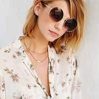 Desert Oversized Round Sunglasses
