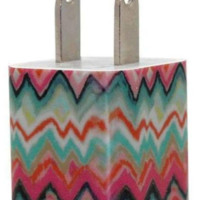 Ikat Lady Phone Charger