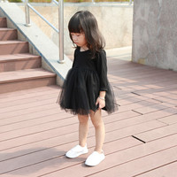 100% cotton baby dress lovelty baby girl clothes 4 colors toddler girls clothing 2017 spring summer girls dress infant costumes