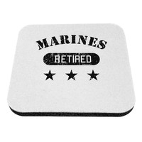 Retired Marines Coaster by TooLoud