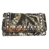 Nocona Camo Wallet / Clutch Purse