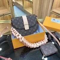 Louis Vuitton LV Monogram Crossbody Shoulder Bag