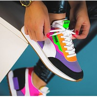 Bunchsun PUMA FUTURE RIDER Hot Sale Women Retro Casual Sport Running Shoes Sneakers