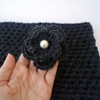 Crochet cowl scarf for him and her, neck warmer wool, winter accessorie, unisex cowl scarf