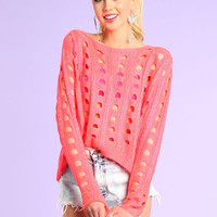 COINSLOT KNIT SWEATER