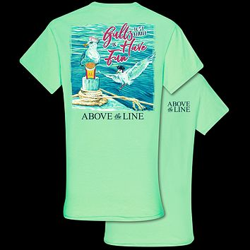 Couture Above The Line Classic Seagulls Wanna Have Fun T-Shirt