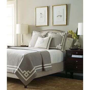 Beacon Hill Taupe & Ivory Bedding by Legacy Home