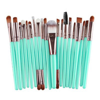 MAANGE 20pcs Rose gold Makeup brushes set Professional Foundation Powder Brush Eyebrow Eyeshadow Lip Brush Maquiagem