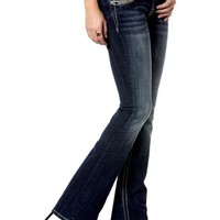 Miss Me-Puzzle Path Mid-Rise Boot Cut Jeans