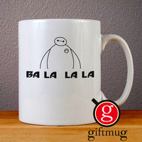 Big Hero Six Baymax Ba La La La Ceramic Coffee Mugs