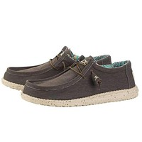 Wally Stretch Shoe in Chocolate by Hey Dude