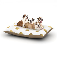 "KESS Original ""Scattered Gold"" Dog Bed"