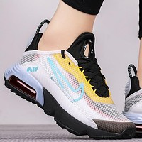 Nike Air Max 2090 New fashion hook print couple shoes