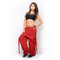 Red Shake Pants - Unique Dance and Rave Pants