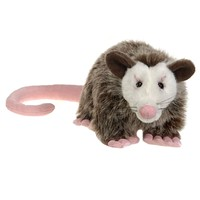 10 Inch Stuffed Opossum Plush Animal North American Forest Collection