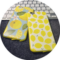 Lemon mobile phone case for iphone 6 6s 6plus 6s plus + Nice gift box!