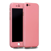 Neo Hybrid Hard PC 360 Degrees Full Protect Case Cover For iPhone 6 6S 6 6S Plus Free Gift Tempered Glass Screen Protector