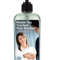 BlueQ Maybe You Touched Your Genitals Liquid Hand Soap 8 oz 236 ml