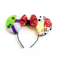 Toy Story Inspired Ears, Woody Ears, Buzz Lightyear Ears, Disney Inspired Ears, Toy Story Ears, Buzz and Woody Ears