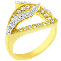 Contempo Pave Ring, size : 09