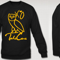 Ovoxa Owl Take Care Crew Neck Sweatshirt