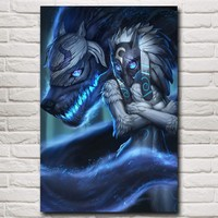 League Of Legends Kindred Poster