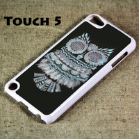 Owl Symbol iPod Touch 5 Hard Cover Case