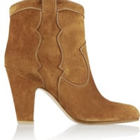 Gianvito Rossi - Suede ankle boots