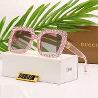 Gucci Women Diamond Shades Eyeglasses Glasses Sunglasses I