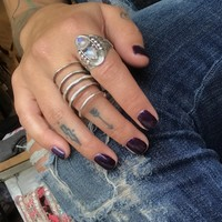 Moon Coil Ring