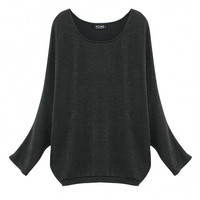Bat Sleeve Loose Top