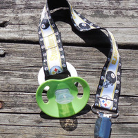 Pacifier Holder, Sports Pacifier Holder, Pittsburgh Steelers Binky Clip, Steelers Pacifier Clip or  Pittsburgh Steelers Toy Clip