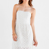 Jun & Ivy Daisy Crochet Dress