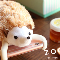 Strapya World : Simasima ZOOPY Cover for iPhone 6s Plus/6 Plus (Hedgehog)
