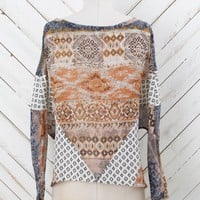 Altar'd State Mixed Print Boho Top | Altar'd State