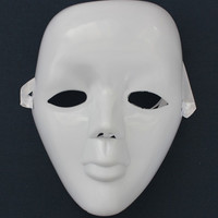 White Stylish Face Mask [6283862982]